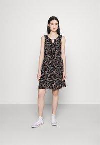 Vero Moda - VMSIMPLY EASY SHORT DRESS - Kjole - black - 0