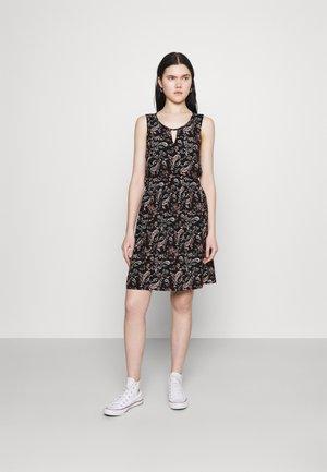 VMSIMPLY EASY SHORT DRESS - Kjole - black