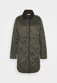 Barbour - PEPPERGRASS QUILT - Winter coat - sage - 4