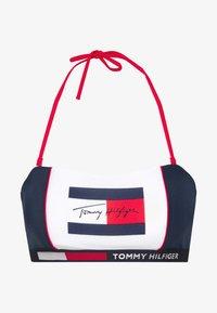 Tommy Hilfiger - BANDEAU - Haut de bikini - pitch blue - 4