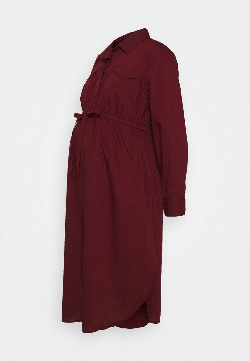 GAP Maternity - UTILITY - Vestido informal - bordeaux