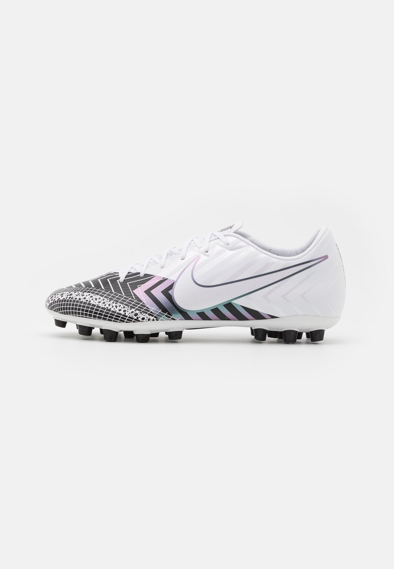 Nike Performance - MERCURIAL VAPOR 13 ACADEMY MDS AG - Moulded stud football boots - white/black