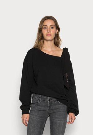 FELPA CHIUSA - Sweater - nero