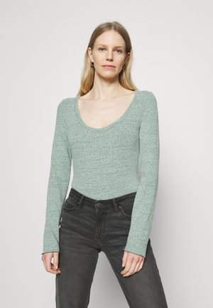 SNOW NEPP - Long sleeved top - map green