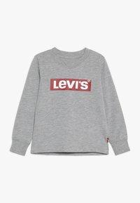 Levi's® - BOX TAB TEE - Långärmad tröja - grey heather - 0