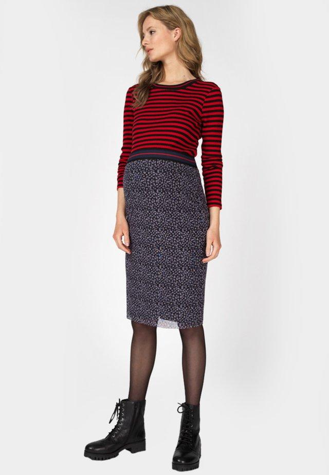 T-shirt à manches longues - tango red stripe