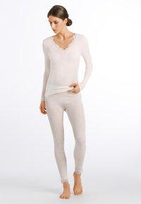 Hanro - 1/1 ARM - Undershirt - vanilla - 1