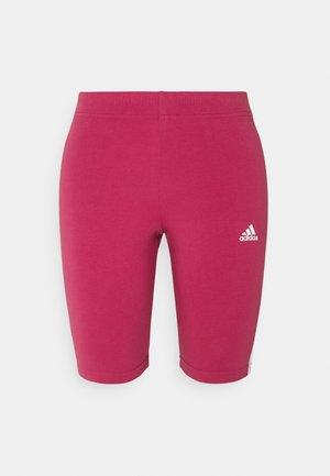 Leggings - pink/white