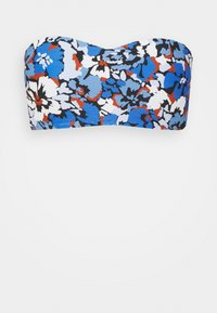 Seafolly - THRIFT SHOP BUSTIER BANDEAU - Bikini top - blue - 4