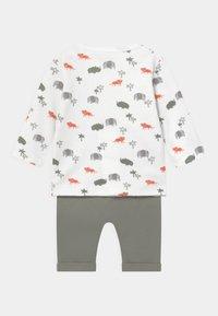 Staccato - SET - Trousers - off-white/khaki - 1