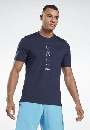 SPEEDWICK MOVE T-SHIRT - Print T-shirt - blue