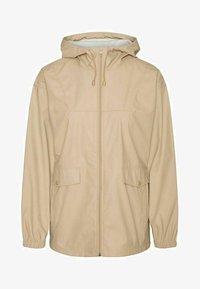 Vero Moda - Zip-up sweatshirt - beige mottled beige - 4