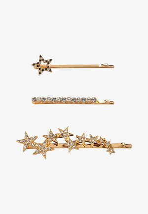 SET - Hair styling accessory - gold