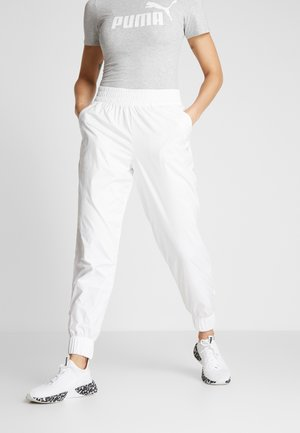 PUMA PANT - Pantalones deportivos - white