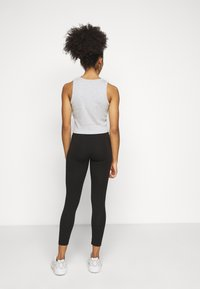 Even&Odd Petite - 2er pack 7/8 legging - Leggings - black