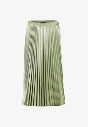 RURY - Pleated skirt - pistazie