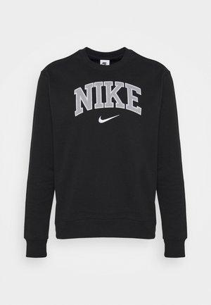 RETRO CREW - Sweatshirt - black