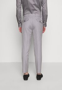 1904 - POULSDEN TAPERED GINGHAM - Pantalon de costume - blue - 2