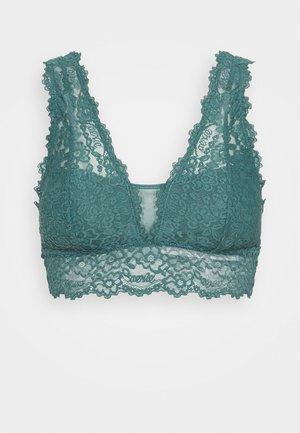 ROMANTIC PLUNGE BRALETTE - Bustier - gatsby green