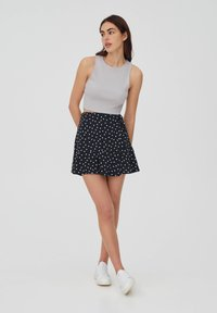 PULL&BEAR - A-line skirt - black - 1