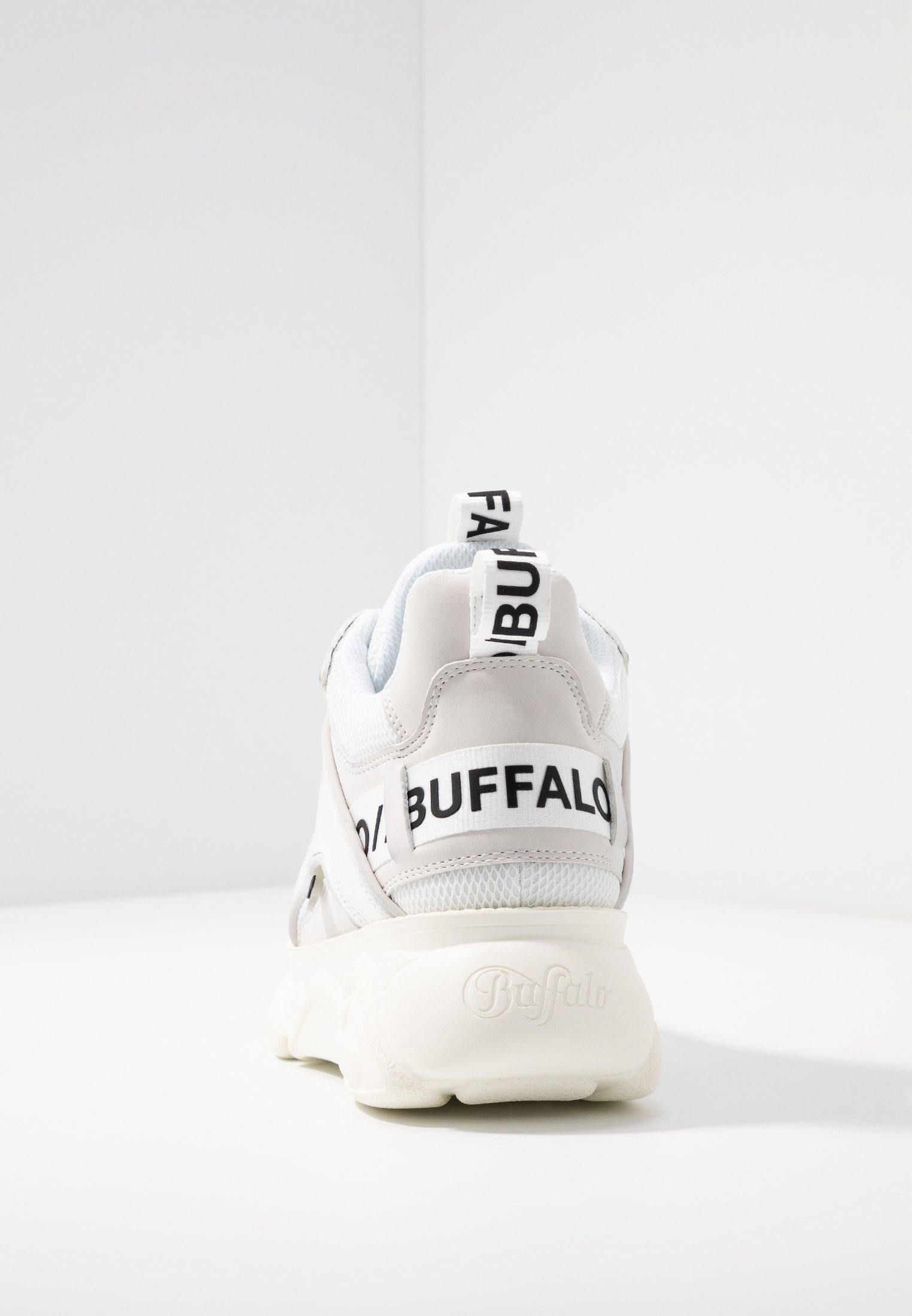 Buffalo CHAI Joggesko whitehvit Zalando.no