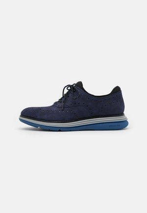 ORIGINALGRAND ULTRA WING - Casual lace-ups - marine blue/black/harbor mist/true blue