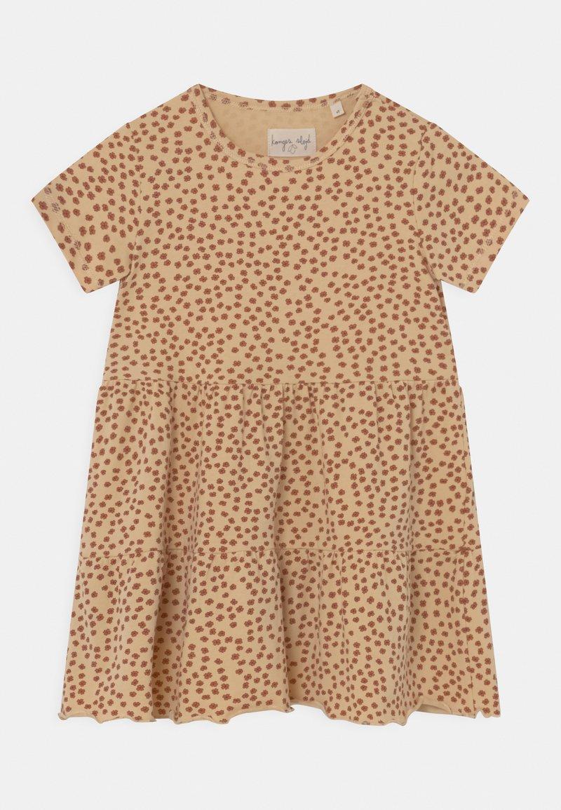 Konges Sløjd - REYA TEE DRESS - Jersey dress - buttercup/rosa