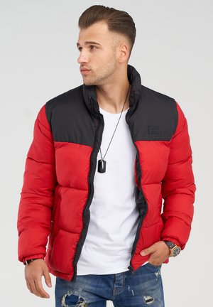 MIT - Winter jacket - tango red