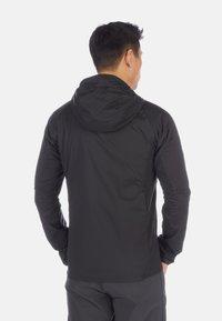 Mammut - RIME LIGHT IN FLEX - Waterproof jacket - black - 1