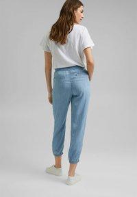 Esprit - Pantalon classique - blue bleached - 2