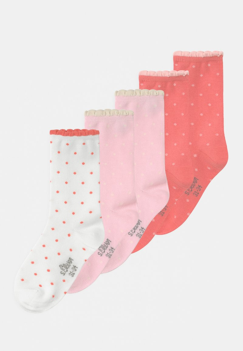 s.Oliver - ONLINE JUNIOR 5 PACK - Calcetines - blushin