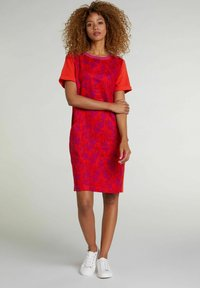 Oui - Jersey dress - red violett - 1