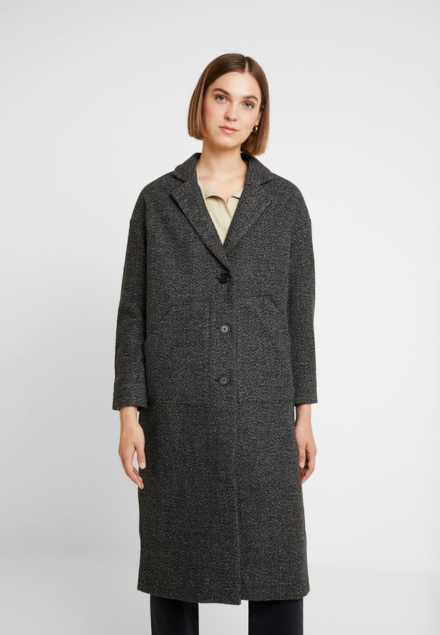 HARLEM COAT - Villakangastakki - black/grey
