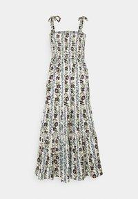 Tory Burch - PRINTED TIE SHOULDER DRESS - Denní šaty - climbing vines - 1
