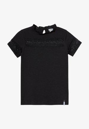 GLORIA - T-shirt med print - black