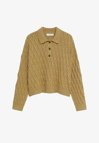 Mango - AZORES - Polo shirt - kaki - 5