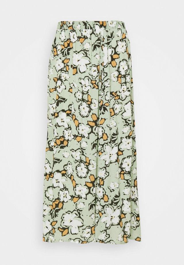IHMARRAKECH - A-line skirt - green