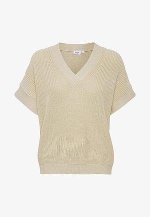 CAIASZ  - T-shirt med print - creme