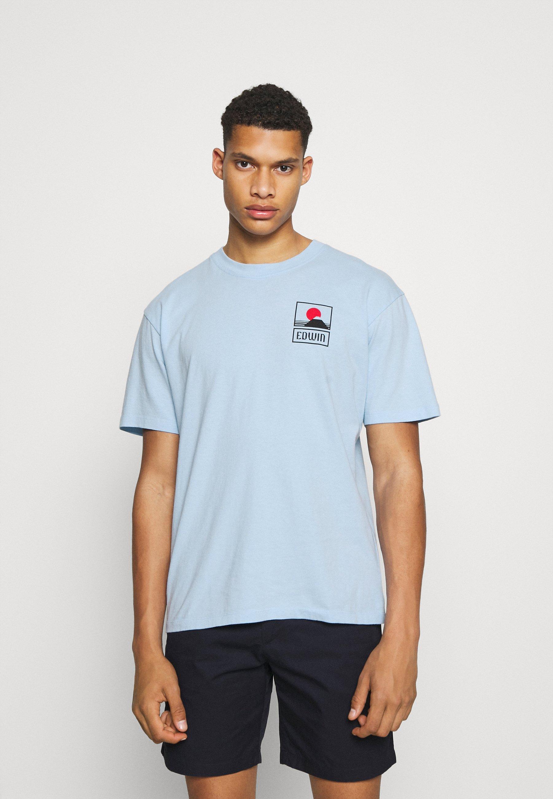 Homme SUNSET ON MT FUJI UNISEX - T-shirt imprimé