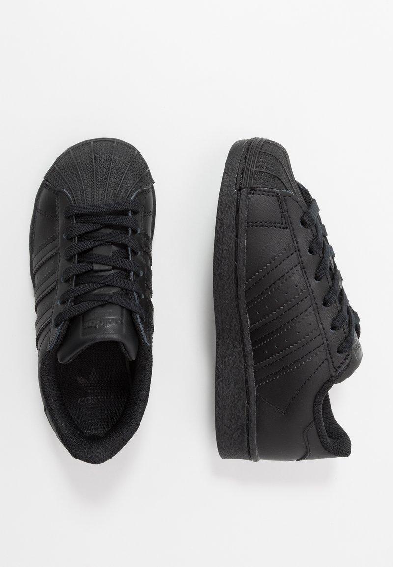 adidas Originals - SUPERSTAR UNISEX - Trainers - core black