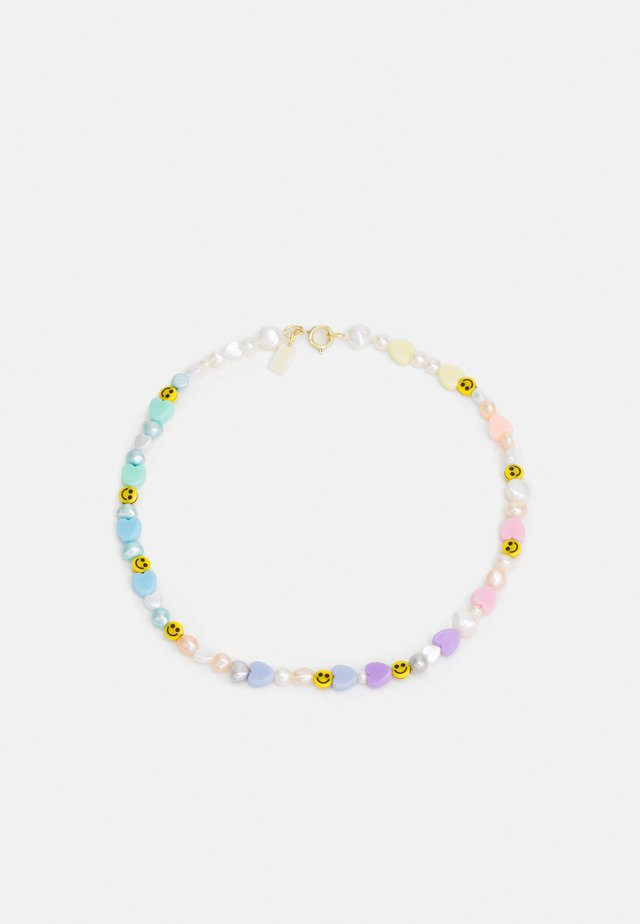 WALD X JULY CHILD SMILIE DUDE NECKLACE - Collier - multicoloured