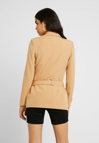 Missguided - DOUBLE BREASTED BUMBAG - Blazer - camel - 2