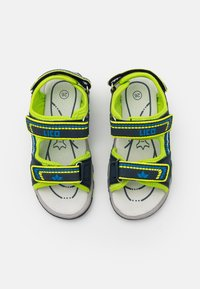 LICO - LUCA - Walking sandals - marine/lemon/blau - 3