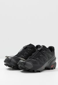 Salomon - SPEEDCROSS 5 - Trail running shoes - black/phantom - 2
