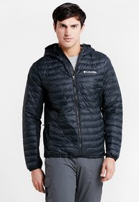 Columbia - POWDER PASS™ HOODED JACKET - Outdoor jacket - black - 0