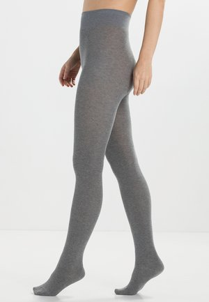 FALKE Family Strumpfhose Blickdicht glatt - Tights - grey mix
