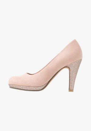 High heels - rose