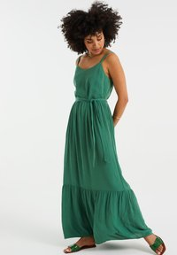 WE Fashion - Maxi dress - green - 0