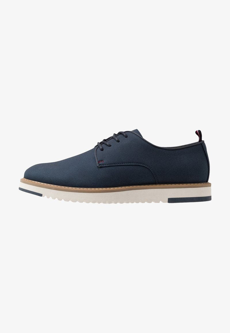 Pier One - Volnočasové šněrovací boty - dark blue denim