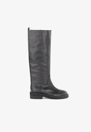 VIA ROMA 15 - Stivali alti - black